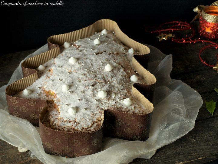 torta albero di natale soffice
