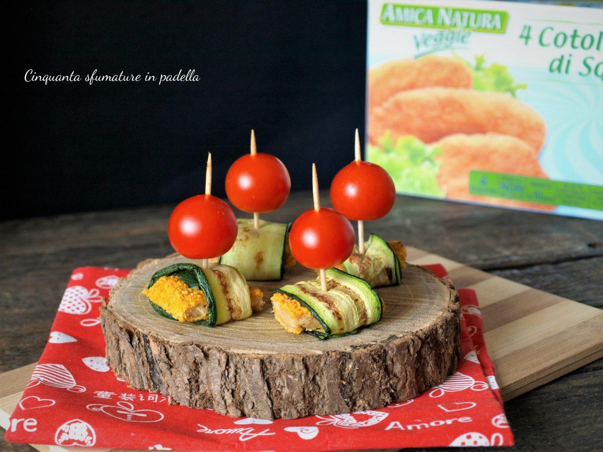 stuzzichini di cotolette con zucchine