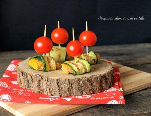 Stuzzichini di cotolette e zucchine