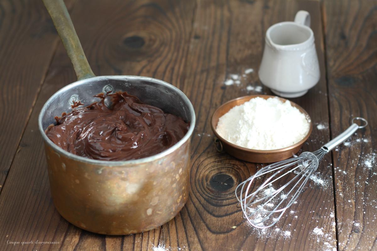 farcia al cioccolato senza uova