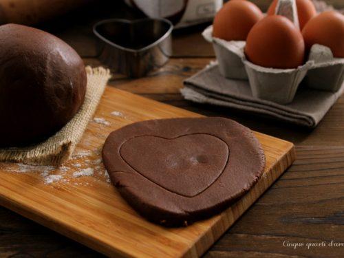 Pasta frolla al cacao (ricetta base)
