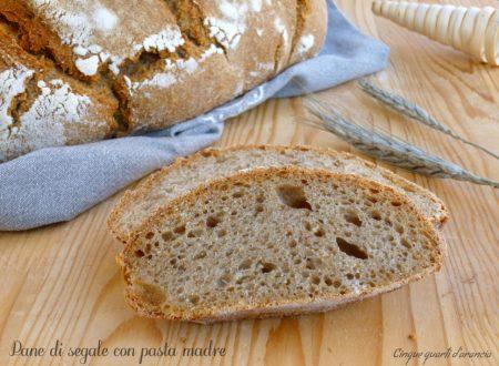 Pane di segale con pasta madre