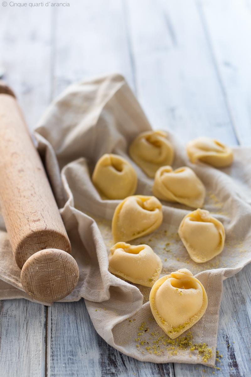 tortellini mortadella e patate