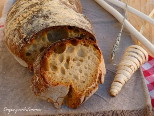 Pane casalingo a lunghissima lievitazione