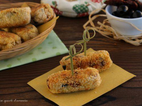 Crocchette merluzzo e patate alla mediterranea