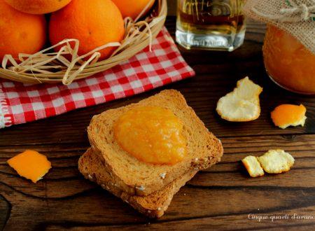 Marmellata arance e whisky