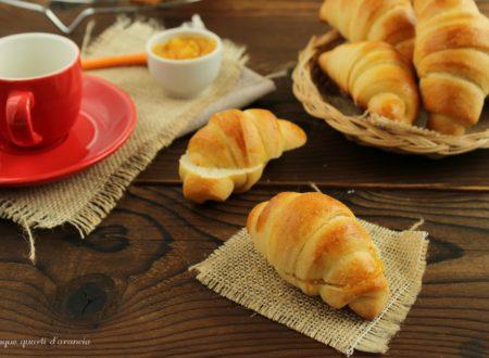 Cornetti brioche (ricetta sorelle Simili)