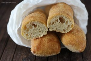 Stecche di Jim (pane senza impasto)