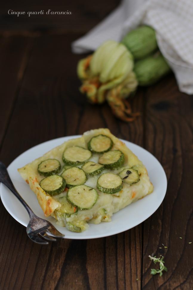 pasticcio di zucchine