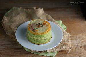 Sformatini di broccoli e patate
