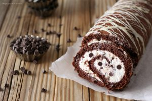 Rotolo ricotta e cioccolato