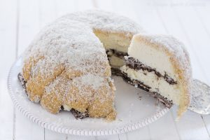 Zuccotto cocco e cioccolato bianco