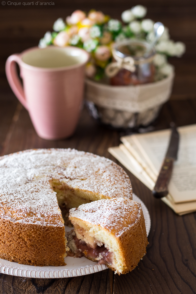 torta alla marmellata