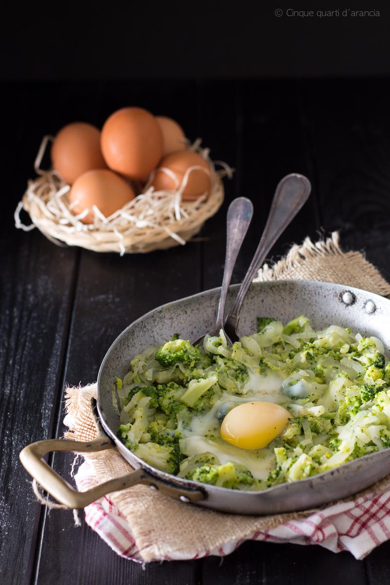 uova con broccoli