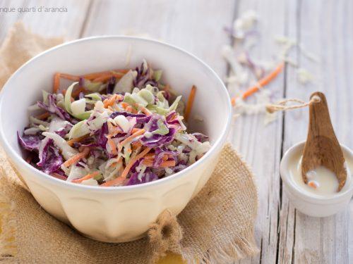 Coleslaw, insalata di cavolo all'americana