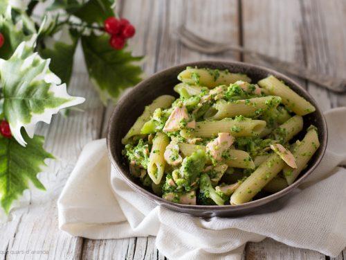 Pasta salmone fresco e broccoli