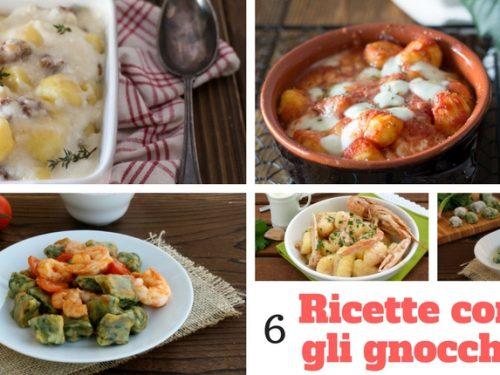 6 ricette con gli gnocchi