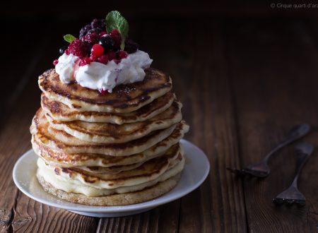 Pancakes, ricetta di Joe Bastianich