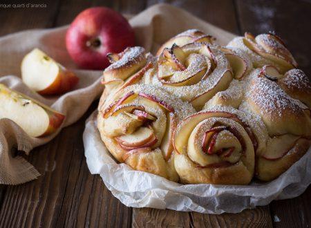 Torta di rose alle mele