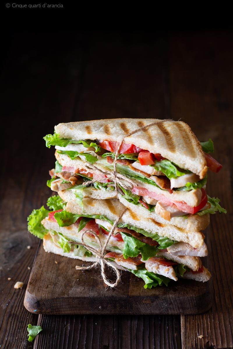 Club Sandwich Ricetta Del Famoso Tramezzino Americano