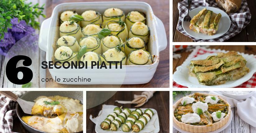 secondi zucchine