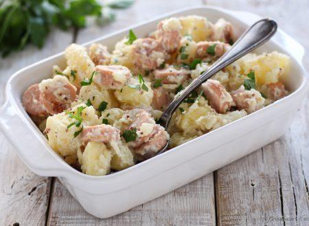 Insalata di patate e wurstel