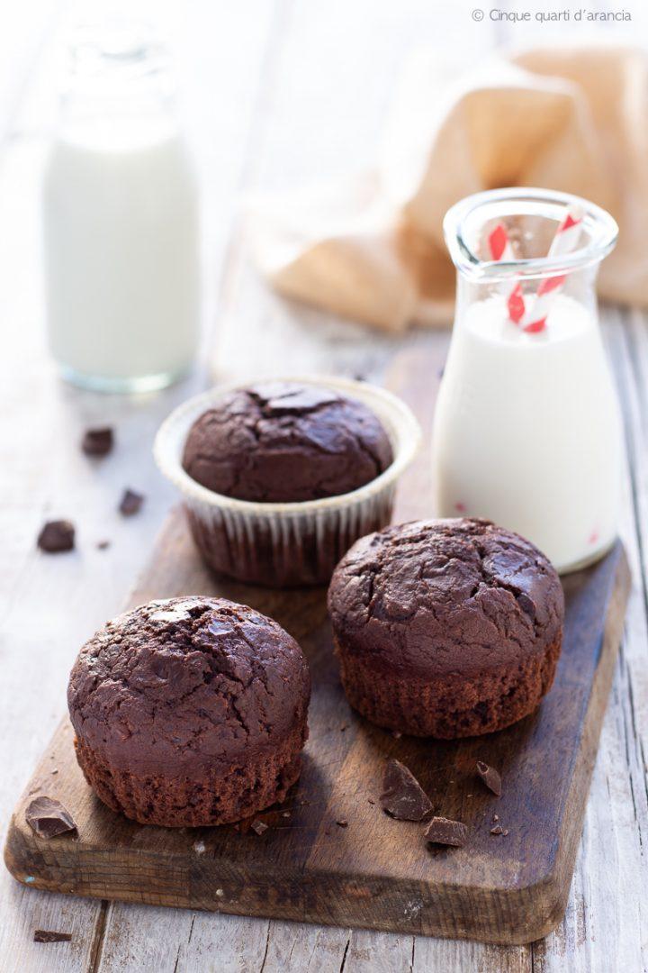 muffin al cioccolato monteranno