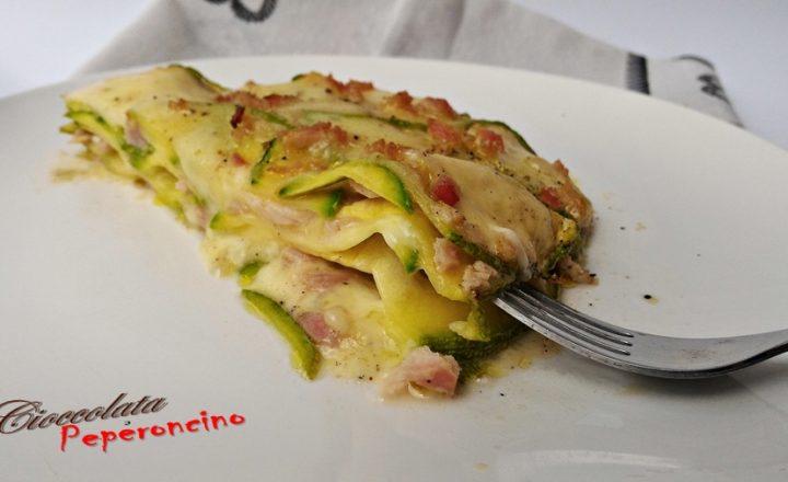 Parmigiana ricca di zucchine tonde