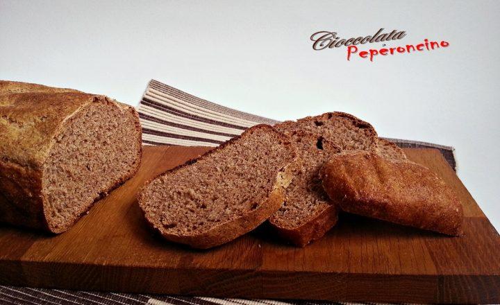Pane in cassetta con farina di segale