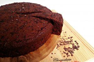 Torta al cacao con arancia