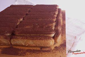 Mattonella cheesecake alla cioccolata
