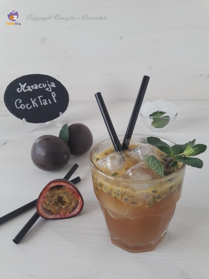 Cocktail alla maracuja. Un perfetto pre-dinner alternativo al classico mojito