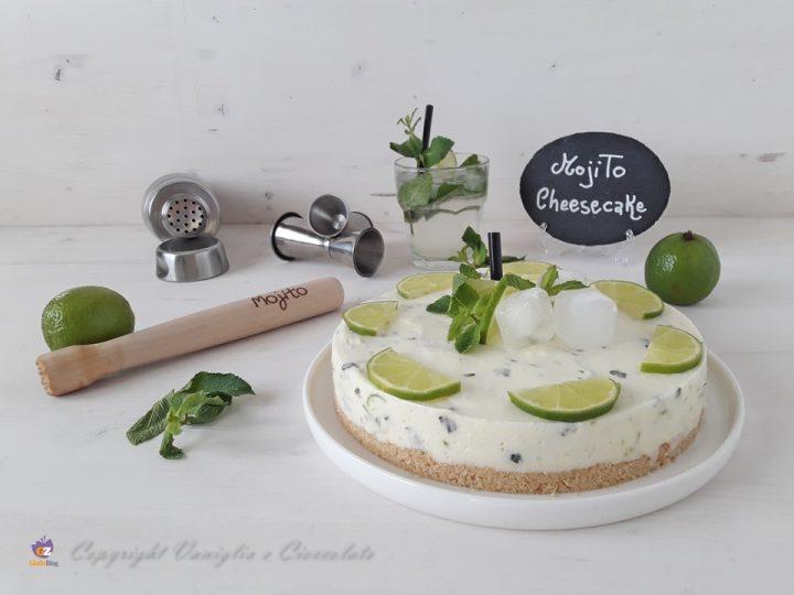 Mojito cheesecake. Una cheesecake decisamente caraibica