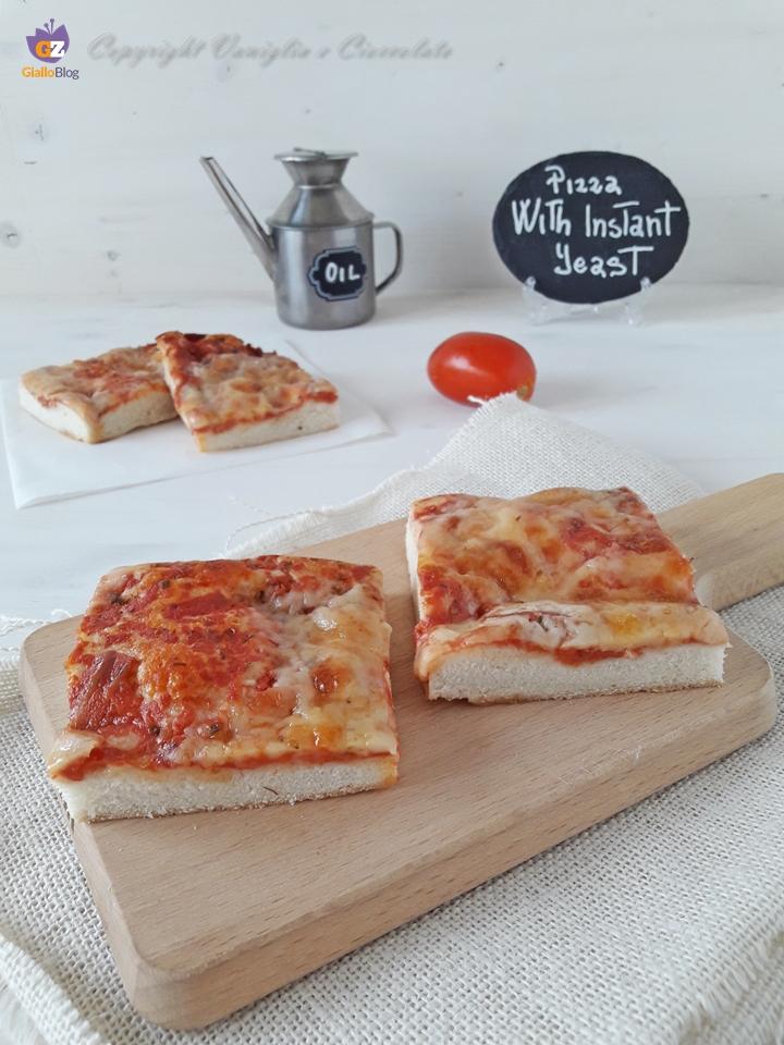 Pizza con lievito istantaneo. Come fare una pizza veloce