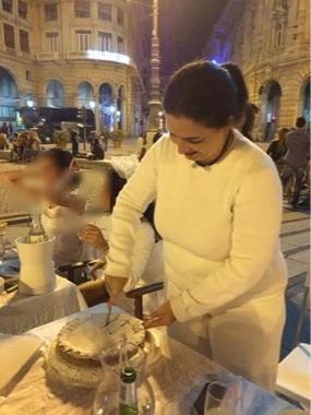 Crostata con crema al gianduia