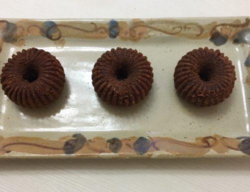 Piccole torte al  cioccolato