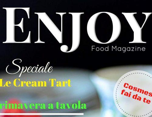 Enjoy Food Magazine n°4: la mia ricetta con la verdura di stagione