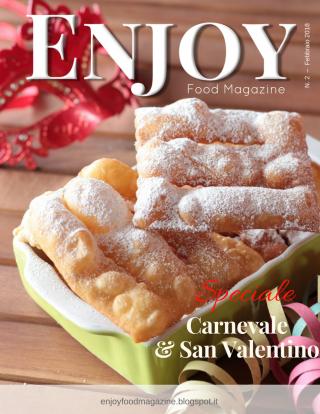 enjoy food magazine febbraio 2018