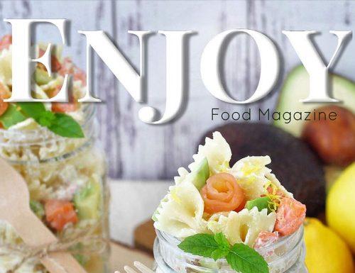 Enjoy Food Magazine n°5: le mie ricette dell'estate