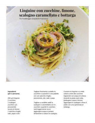 enjoy food magazine linguine