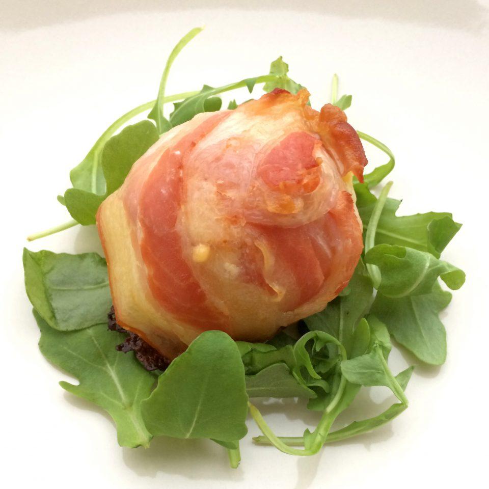 patate al forno provola bacon