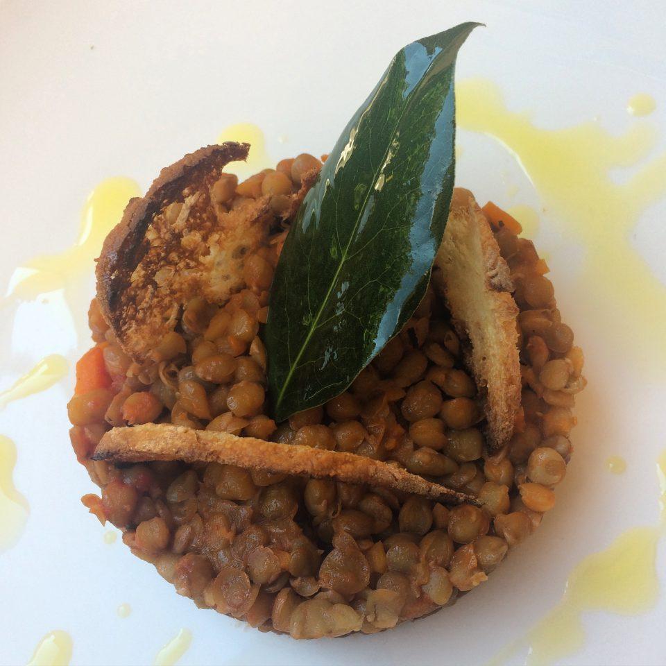 lenticchie in padella