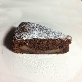 torta pere e cioccolato con nutella