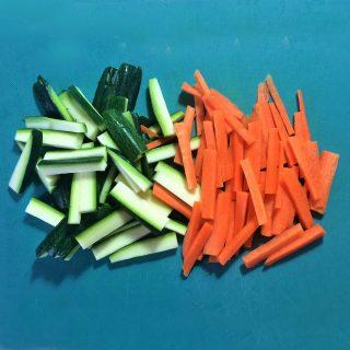 verdure a julienne