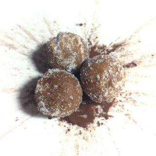 castagnole cioccolato