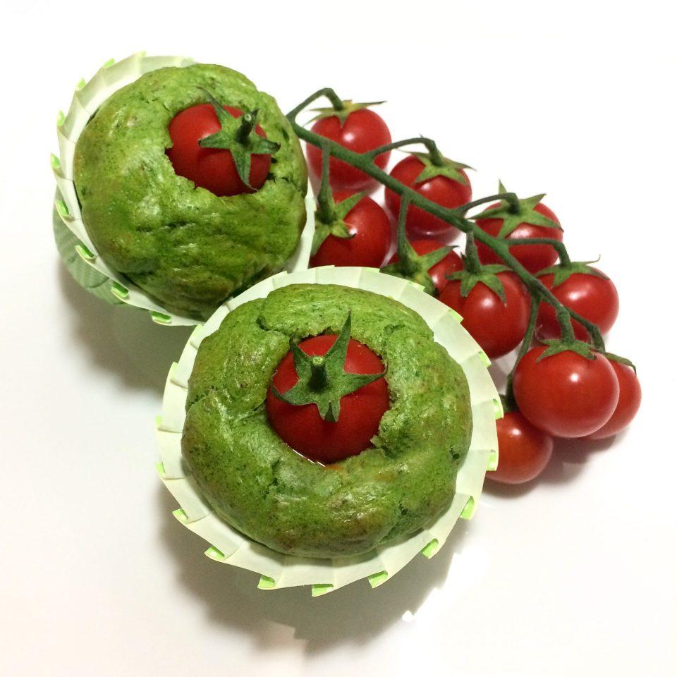 muffin salati rucola pomodorini e noci