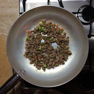 ragu di salsiccia al tartufo