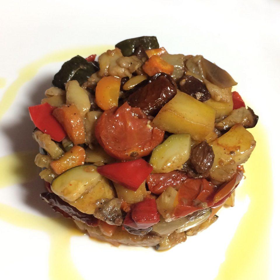 caponata siciliana al forno