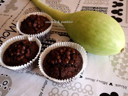 Muffin zucchine e cioccolato