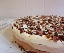Cheesecake al triplo cioccolato SENZA GLUTINE